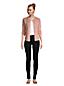 Women's Petite Mid Rise 360° Stretch Slim Black Jeans