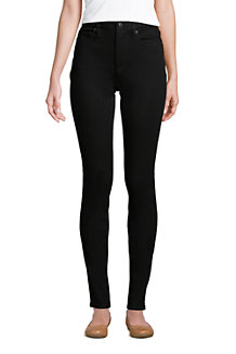 Schwarze Slim Fit 360° Stretch Jeans für Damen