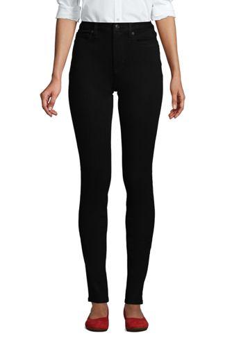 Schwarze Slim Fit 360° Stretch Jeans für Damen in Petite-Größe