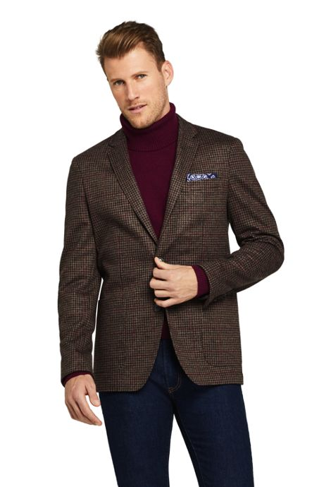 Men's Tailored Fit Comfort-First Knit Blazer