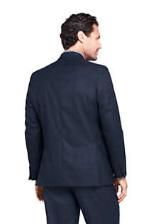 Men's Pattern Traditional Fit Year'rounder Suit Jacket, Back
