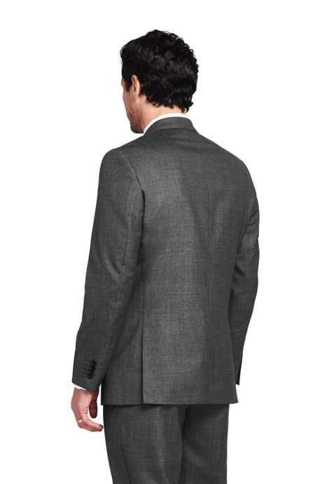 Men's Pattern Traditional Fit Year'rounder Suit Jacket