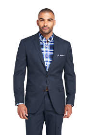 Men's Pattern Tailored Fit Year'rounder Suit Jacket