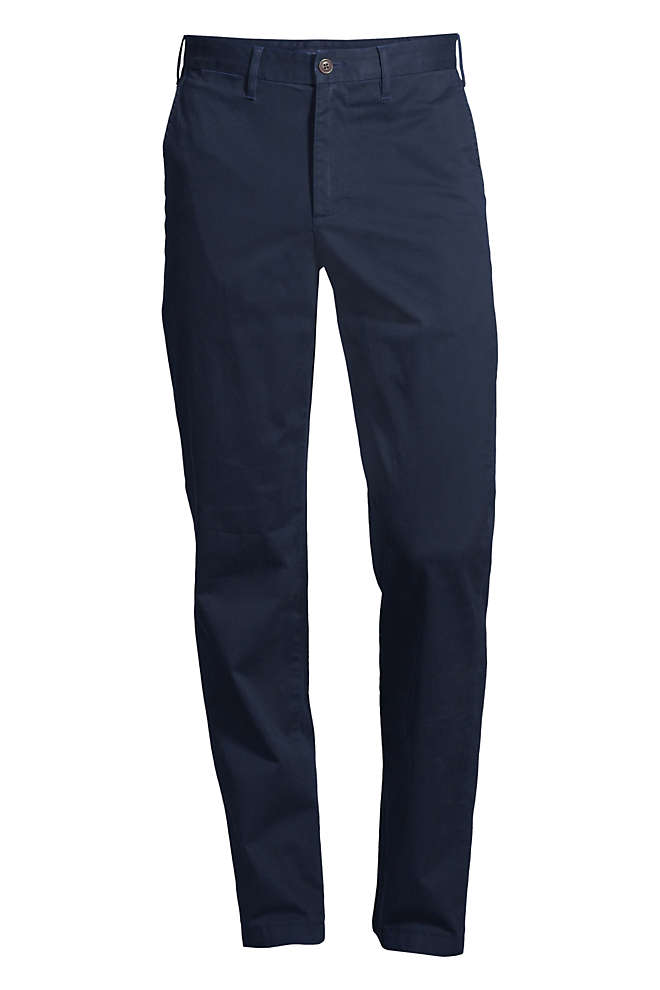 Men's Big and Tall Traditional Fit Comfort-First Knockabout Chino Pants, Front