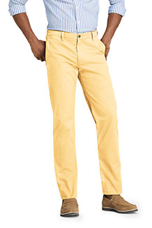 Le Chino Casual Droit Stretch Ourlets Sur-Mesure, Homme