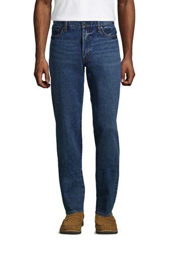 Classic Fit Denim-Jeans mit Komfortbund für Herren, in Wunschlänge