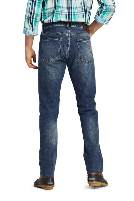 Men's Straight Fit 5 Pocket Jeans