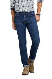 Lands' End Men's Straight Fit Jeans