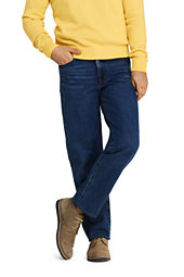 Lands' End Men's Relaxed Fit Jeans