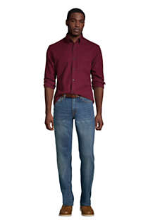 Men's Traditional Fit Jeans, alternative image