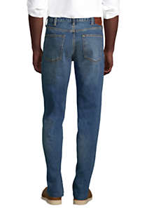 Men's Traditional Fit Jeans, Back