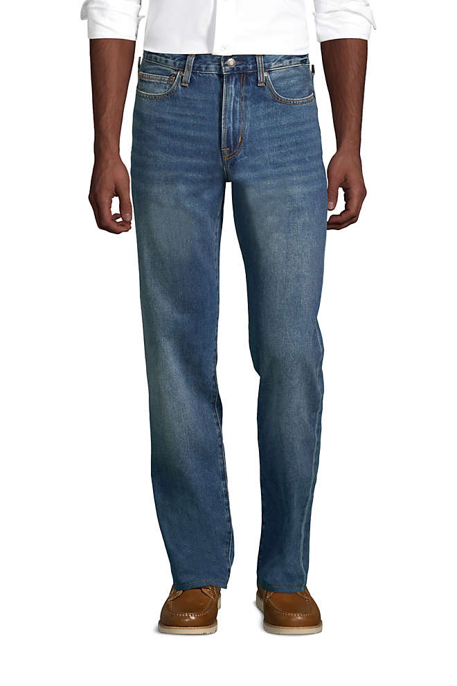 Men's Traditional Fit Jeans, Front