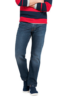Men's Square Rigger Stretch Jeans, Traditional Fit