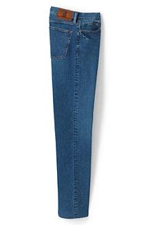 Straight Fit Denim-Jeans mit Stretch für Herren, in Wunschlänge