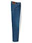 Le Jean Droit Stretch Square Rigger Ourlets Sur-Mesure, Homme Stature Standard