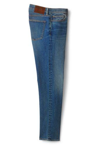Men's Premium Stretch Denim Jeans, Straight Fit