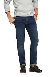 Lands' End Men's Straight Fit Comfort-First Jeans