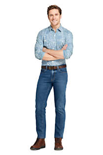 Men's Straight Fit Comfort-First Jeans, alternative image