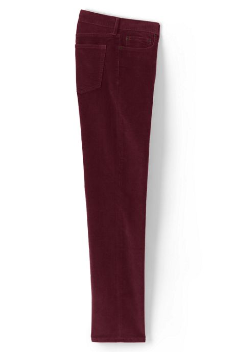 Mens Traditional Fit Comfort-First Washed Corduroy Pants