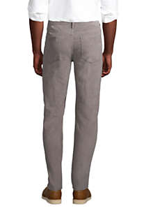 Mens Traditional Fit Comfort-First Washed Corduroy Pants, Back