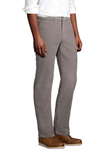 Mens Traditional Fit Comfort-First Washed Corduroy Pants, alternative image