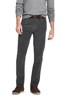 Men's Stretch Cord Jeans, Straight Fit