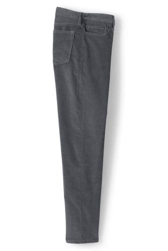 Velours Me Côtelé Sur Stretch Ourlets Pantalon Confort en SzpGUqMV