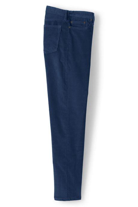 Mens Comfort Waist Comfort-First Washed Corduroy Pants