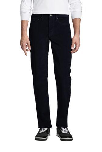 Pantalon Confort Stretch en Velours Côtelé Ourlets Sur-Mesure, Homme Stature Standard