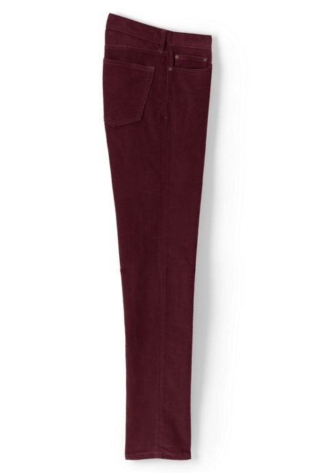 Mens Slim Fit Comfort-First Washed Corduroy Pants