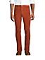 Pantalon Slim Stretch en Velours Côtelé Ourlets Sur-Mesure, Homme Stature Standard