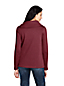 Women's Petite Split Collar Fleece Top