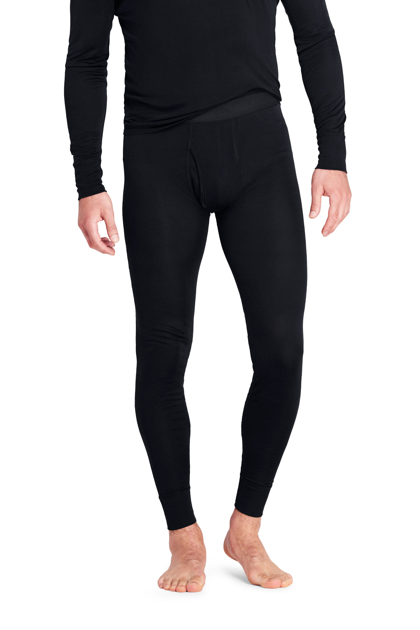 Men's Silk Long Underwear Pants