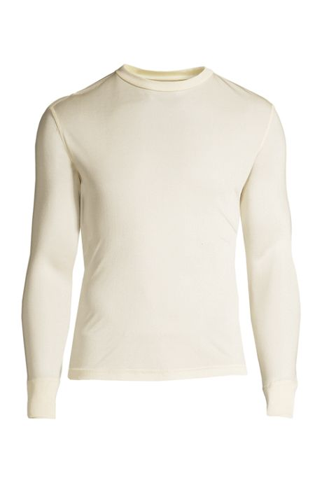Men's Silk Interlock Crew