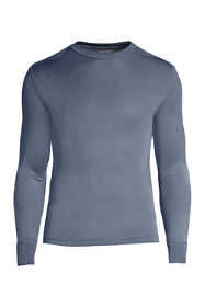 Men's Silk Long Underwear Crew Neck