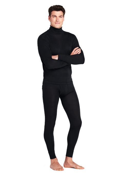 Men's Silk Interlock Turtleneck