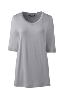 Women's Luxury Silk Blend T-shirt