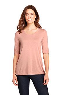 Women's Luxury Silk Blend T-shirt