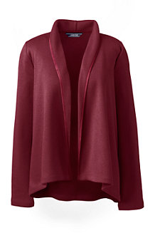 Women's Open Front Fleece Cardigan