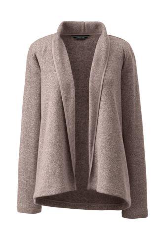 Women's Open Front Fleece Cardigan
