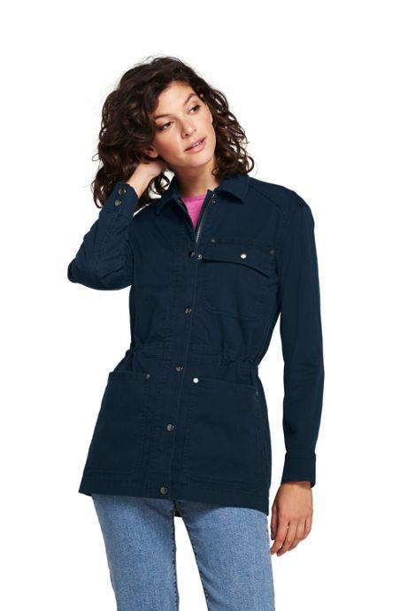 Women's Woven Utility Jacket