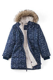 Little Girls ThermoPlume Fleece-Lined Coat