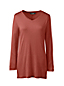 Women's Luxury Silk Blend V-neck Tunic