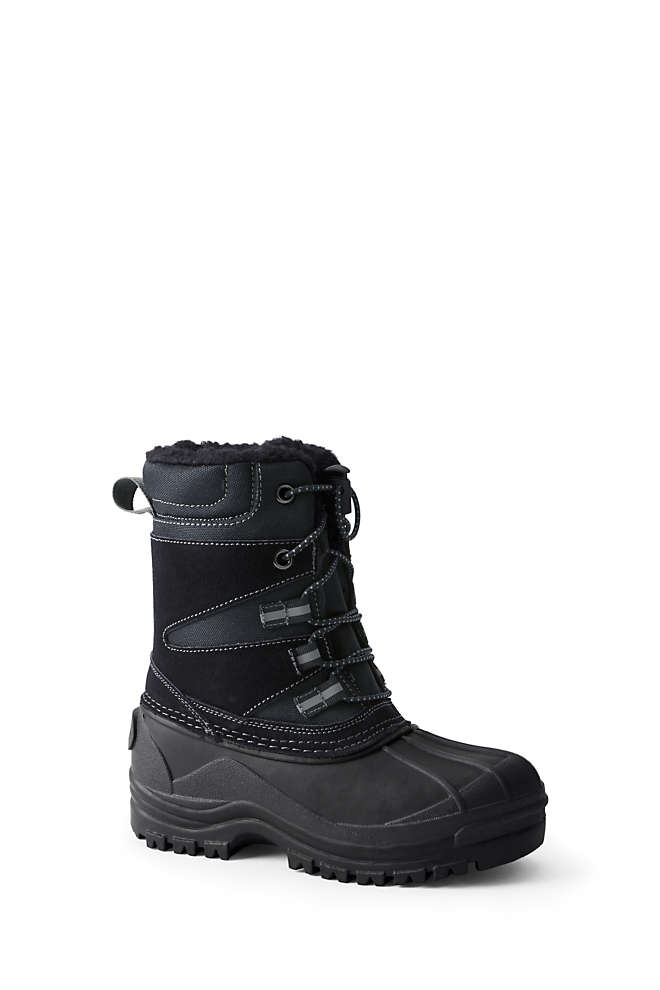 Kids Expedition Insulated Winter Snow Boots, Front