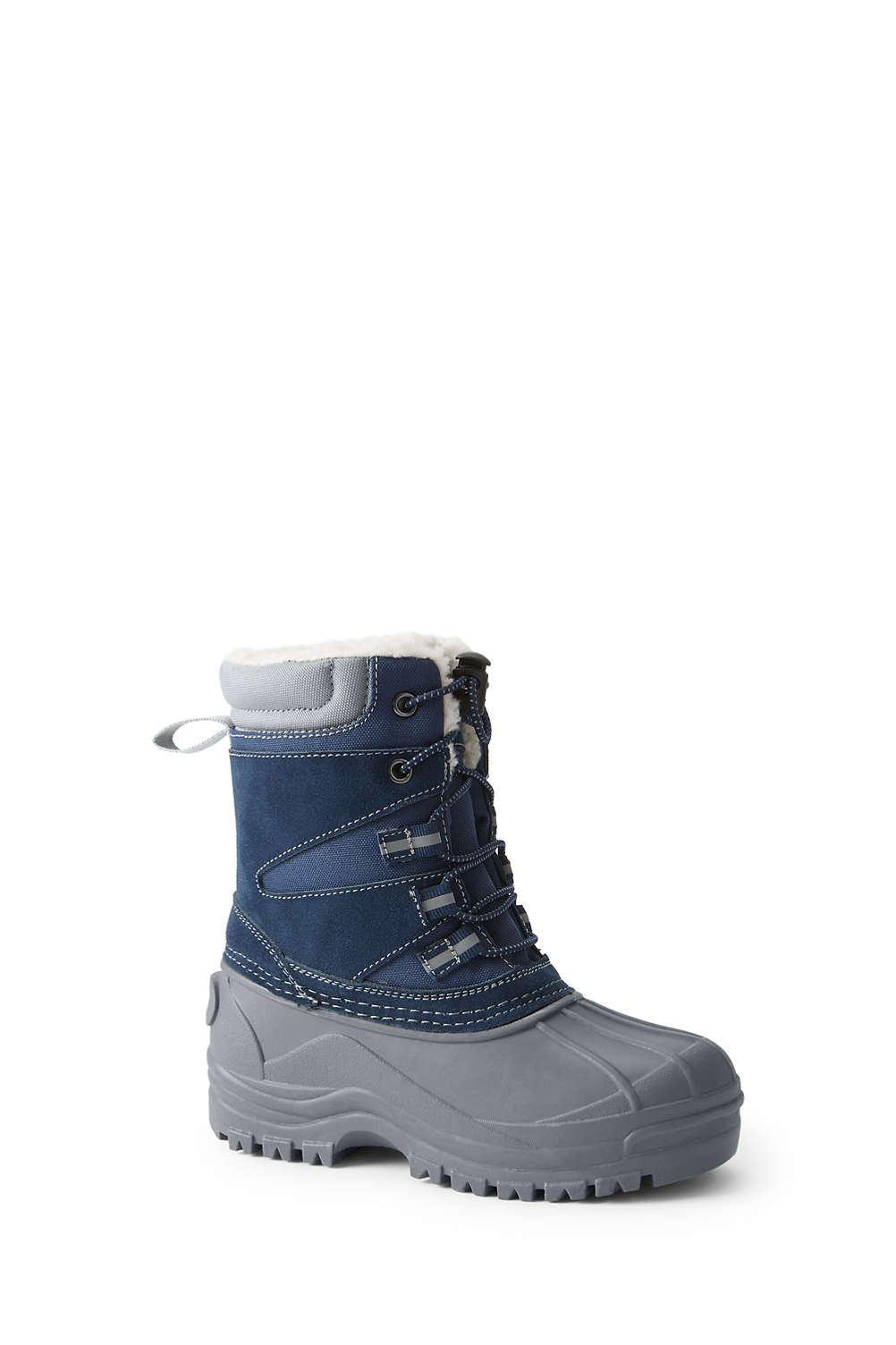 11d33ed04 Kids Expedition Insulated Winter Snow Boots from Lands  End