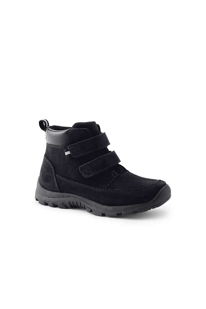 Boys All Weather Suede Leather Boots, Front