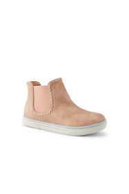 Girls Metallic Chelsea Boots