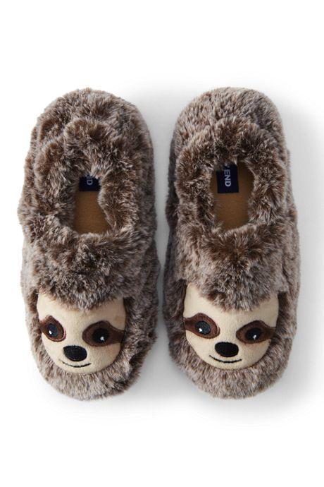 Toddler Cute Animal Fleece Slippers