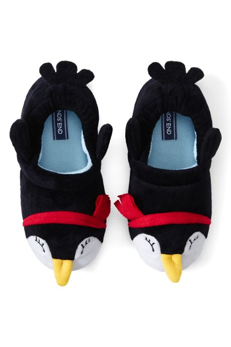 Toddler Cute Animal Fleece Slippers