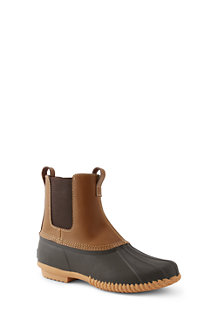 Les Duck Boots Chelsea Imperméables Faciles à Enfiler, Homme